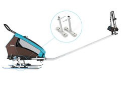 Croozer Trailers Ski Adapter Kit Without Skis