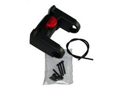 ALTURA KLICK HANDLEBAR ADAPTER FOR ARRAN/SKYE/ORKNEY BAR BAGS WITH RED Q/R BUTTON