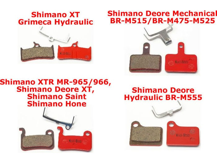 Kool Stop Shimano Deore Replacements click to zoom image