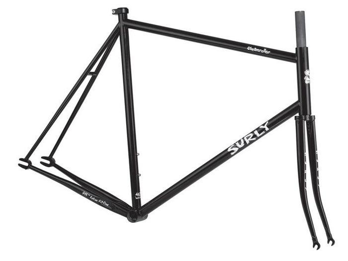 SURLY Steamroller Frameset Black click to zoom image