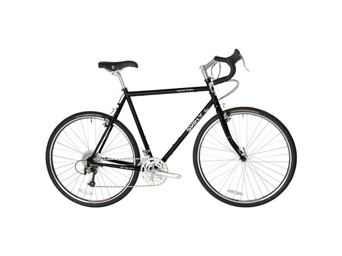 SURLY Long Haul Trucker 10 Speed Black 700C click to zoom image