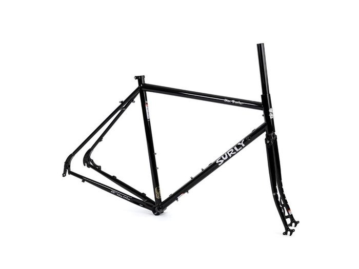 SURLY Disc Trucker Frameset Black click to zoom image