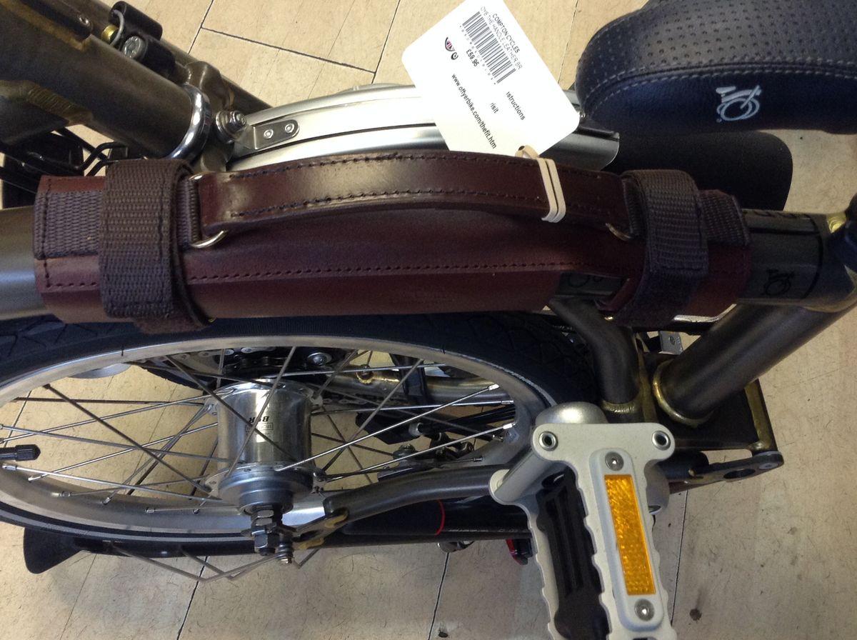 Off Yer Bike The Leather Handle 163 69 99 Brompton