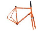 THE LIGHT BLUE Robinson Frameset Volcano Orange  click to zoom image