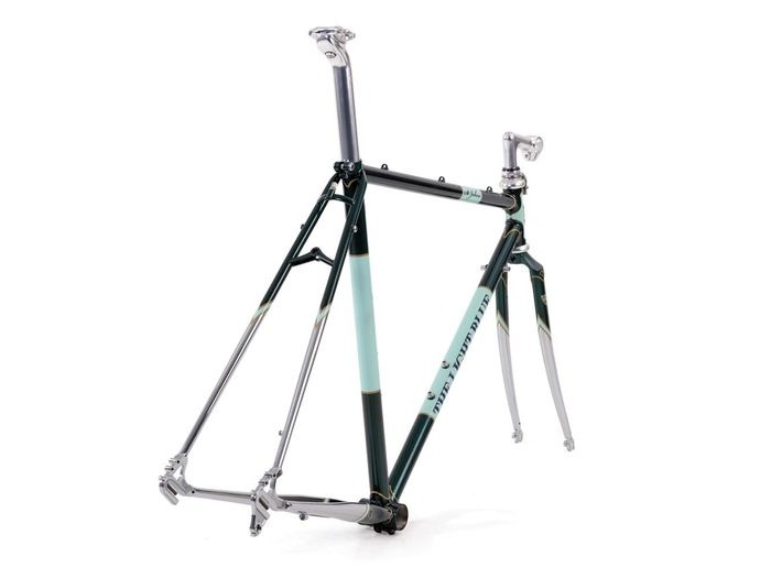 THE LIGHT BLUE St Johns Frameset Green/Chrome click to zoom image