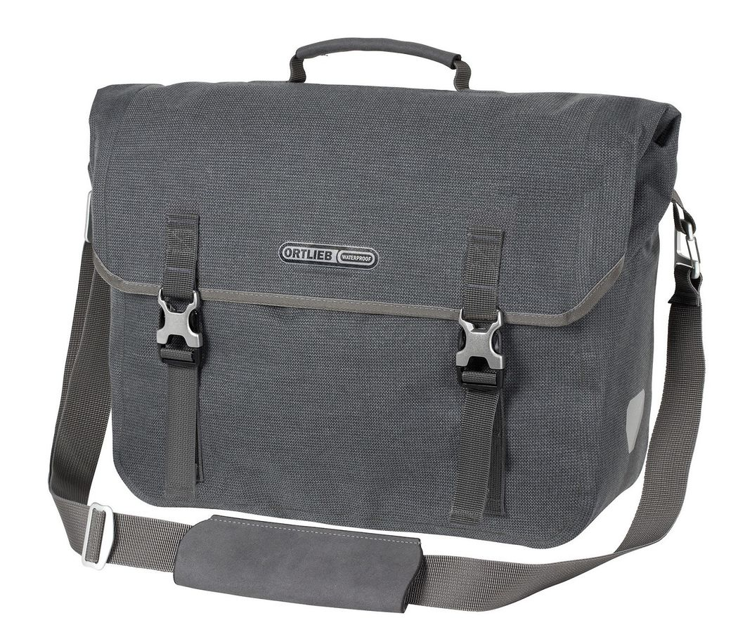 Ortlieb 20L Two Urban QL3.1 Commuter Pannier Bag Blue Ink