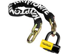 KRYPTONITE New York Fahgettaboudit Chain and NY Disc Lock 100 cm
