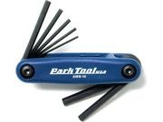 PARK Fold-up Hex wrench set: 3 to 6, 8 & 10 mm