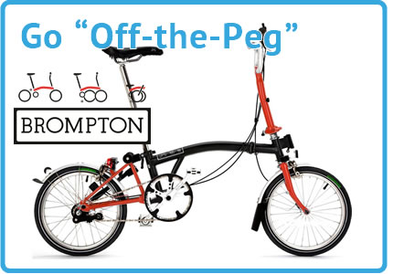 Off The Peg Brompton Folding Bikes