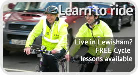 Free Cycle Lessons in Lewisham